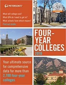 Peterson's Four-Year Colleges 2018-Find your undergraduate education fit.