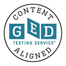 GED Testing Service Content Aligned Seal