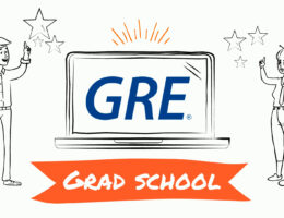 GRE video still of title page
