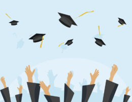 graduation for students who used online resources for adults and military