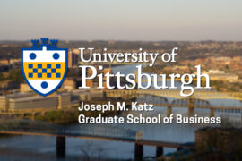 mba program at university of Pittsburgh