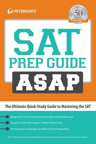 Peterson's SAT Prep Guide ASAP