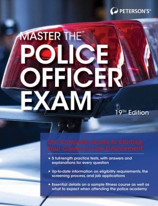 Peterson's Master the Police Office Exam