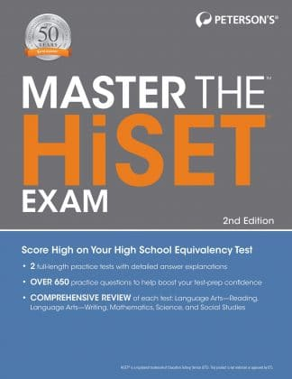 Peterson's Master the HiSet Exam