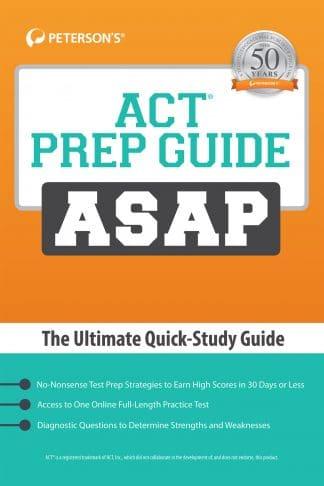 Peterson's Prep Guide ASAP